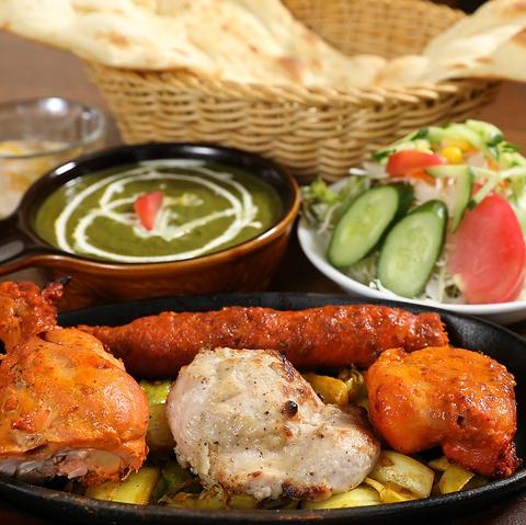 本場の腕自慢のシェフが作る本格インド・ネパール料理と店内雰囲気が自慢のお店★