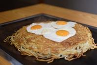 うどん県で◯番大きなお好み焼きが食える店