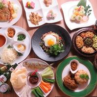 本格的なミャンマー料理をお楽しみください