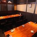 ≪宴会向けテーブル席最大15名様≫椅子のほうが楽♪という方にもぴったりのエリアです。