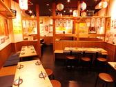 広々とした店内!人気のテーブル席は下町の活気あふれるオープンなお席から仕切りが付いたお席まで様々!女子会や少人数の飲み会にもぴったりです!