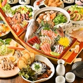 【期間限定!】種類豊富な宴会コースは飲み放題付2時間2980円~OK◎