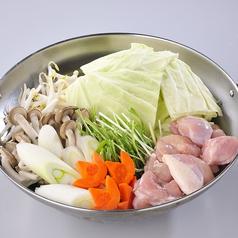 料理メニュー写真【追加トッピング】野菜/つくね/もも肉