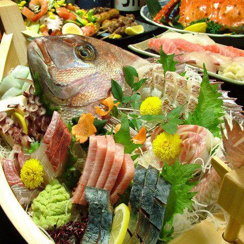 【プレミアムさんまコース】お得なご宴会コース〈全8品〉 4500円(税抜)