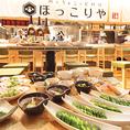 アクセス良好、東京メトロ銀座線 三越前駅 直結 日本橋三井タワーB1に位置する『鶏とちょこっと料理 ほっこりや』、ちょっと飲みすぎてしまった日でも簡単にお帰り頂けます。