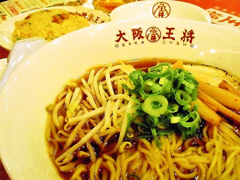 人気の焼餃子を中心にバラエティ豊かな中華メニューが盛りだくさん!