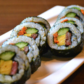 料理メニュー写真和牛韓国海苔巻き