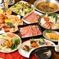 飲み放題もついたお得な食べ放題のご宴会プランも各種ご用意