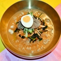 料理メニュー写真手作り ビビン麺