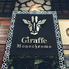 ジラフモノクローム Giraffe Monochromeの外観1