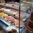 【デザートコーナー】デザートはひとくちサイズなので色々なお味をお楽しみ頂けます。