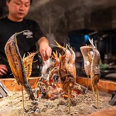炭火野菜巻き串と炉端焼き 博多うずまき 博多駅前店の特集写真