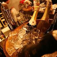 ワインを愉しむ飲み放題♪120分2000円☆