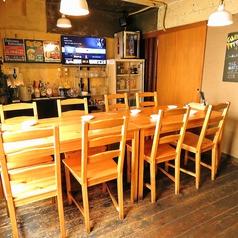 2Fはテーブル席です!10名以下の小宴会にピッタリ☆会社の仲間や女子会・合コンなど幅広いシーンでご利用いただけます!大切な人たちとワイワイ楽しいひとときをお過ごしください!宴会コースは3000円~ご用意しておりますので詳細はコースページをご覧ください!