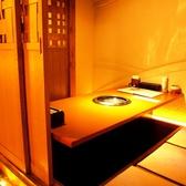 接待や食事会にも最適な完全個室。