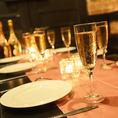 【ネットからのご予約も受付中!!】お電話をしなくても簡単にご予約が成立♪団体様パーティにも最適な個室を多数ご用意☆少人数ももちろん◎ほんのり明るい間接照明とシャンデリアがお客様のお席を彩ります。五感で味わう美食料理を是非お楽しみください☆
