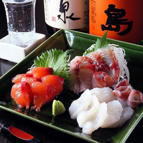 鮮度抜群!!旬のお魚と季節限定の日本酒を『いごっそ』でご堪能ください♪