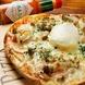 とろ~り卵の特製ピザ(カプリチョーザ)ピザ4種ご用意!