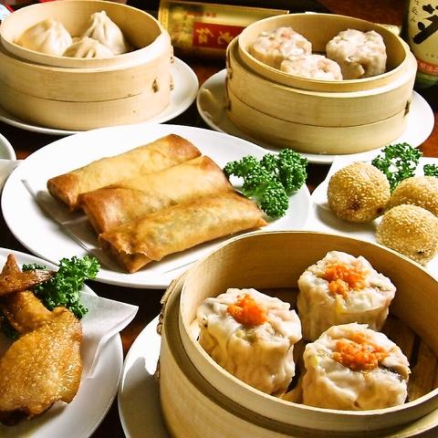 本格中華を堪能★上海から来た点心師の絶品大人気小龍包とオーダー式食べ放題が人気♪