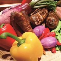 野菜は全て農家直送有機野菜を使用しております