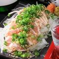 料理メニュー写真鶏のたたき