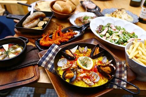 彩り豊かなバル料理をお楽しみいただけます♪