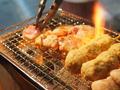 料理メニュー写真炭火焼き鳥
