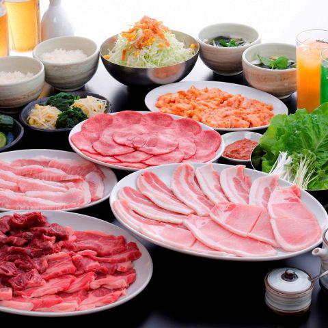 【2時間飲み放題】話題の豊熟もち豚が味わえる!スタンダードコース 全17品 4,500円