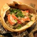 料理メニュー写真カニ味噌甲羅焼き