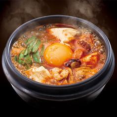 【復活】海鮮とキムチの豆富チゲ