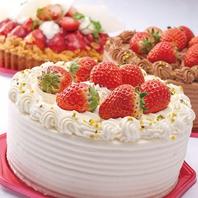 本場パティシエのケーキ