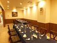 各種ご宴会の席や慶事、ご法事などに。団体様の場合個室として貸切可能。