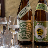 和食と相性抜群の日本酒も豊富♪渋谷で希少な品揃え♪