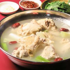 タッカンマリ(韓国風丸鶏の煮込み 1羽)