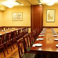 【個室宴会】大・中・小各種ご宴会に合わせてお席をご用意致します。バリアフリーにも対応可能◎接待向き個室や宴会個室など色々なシチュエーションで活躍する完全個室用意しております!