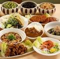料理メニュー写真☆その他、季節の食材を使った料理などございます(上記メニューは季節によって変わります)