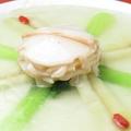 料理メニュー写真あわびと野菜の塩味煮込み