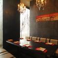 【完全個室】ご宴会にも最適な中人数のプライベート個室は宴会にも最適