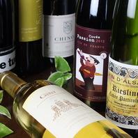 ワインも100種類以上♪