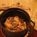 料理メニュー写真【NEW】ポルチーニのストウブリゾット(2~3人前)