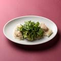 料理メニュー写真パクチー 水餃子