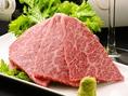 【ザブトン】霜降りが芸術と言われ、肉の甘みが堪能できます