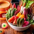 料理メニュー写真【野菜ソムリエ厳選】生野菜の盛り合わせ 小