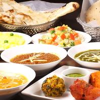 人気のインド料理を堪能できる<飲放付4740円>~!