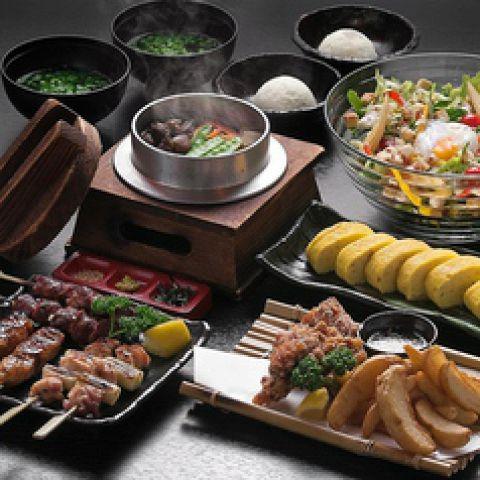 【いろいろ食べたいあなたに】『選べるお得コース』全9品★1.5H飲放題付★2480円