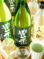 日本酒の種類も豊富!