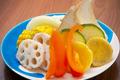 料理メニュー写真焼野菜の盛合せ