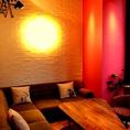 予約OK(16時~)!ゆったり寛げるソファー席は大人気なので、ご予約がお勧めです。