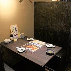 4名様からご利用いただける完全個室をご用意!周りを気にせずお食事を楽しみたいお客様におすすめです!