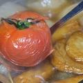 料理メニュー写真[薦]とまとおでん(とまとを崩して頂くとさっぱり和風トマトスープになります)
